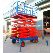 mobile hydraulic scissor lifting platform/electric hydraulic scissors lift platform