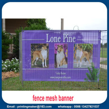 Seragam Kustom Custom Printed Fence Screen Mesh Banner