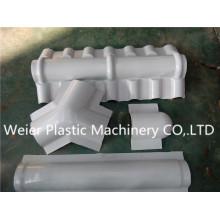 Sjsz-80/156 Chaîne de production de plaques vitrées en PVC / PC