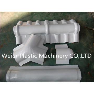 Sjsz-80/156 Línea de producción de placas de ola esmaltadas PVC / PC