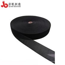 Cinta de colchón tejida pp de nylon negro personalizado de 3mm-400mm