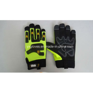 Work Glove-Heavy Duty Glove-Anti Vibraiton Glove-Industria Glove-Leather Glove-Labor Glove
