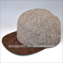 Custom Snapback 100% en laine blanc 5