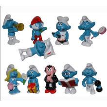 Figura de ação de plástico de alta qualidade ICTI Natal Cartoon Toy