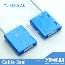 Одноразовая кабельная пломба с защитой от вскрытия и лазерной печатью