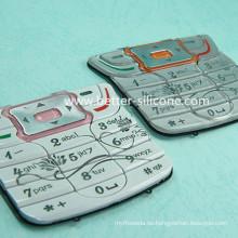 Kundenspezifische Kunststoff-Gummi P + R Keycap