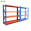 iron shelving rack for warehouse storage system