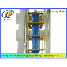 Polyacrylate spray drying tower