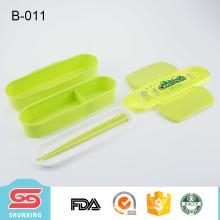 удобно носить Eco содружественное высокое качество пластиковый ланчбокс для детей