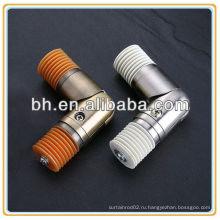 Угловой соединитель с круглой трубкой, алюминиевый угловой соединитель, разъем для стального стержня