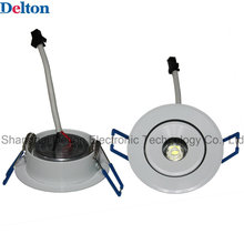 1W Flexible Round Dimmable LED Ceiling Spot Light (DT-TH-1E)