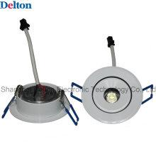 1W Гибкий круглый с возможностью затемнения светодиодный потолочный светильник (DT-TH-1E)