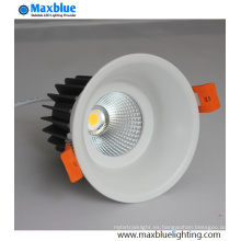9-12W CREE COB LED Downlight lámpara