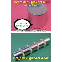 Customized magnetic cylinder,stick magnet