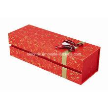 Vinho caixa de embalagem de papel, caixa de presente de papelão para o vinho