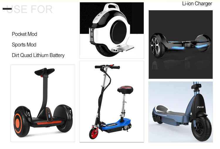 Li-ion Scooter Ebike Charger