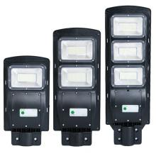 30W 60W 90W Luz de calle solar integrada
