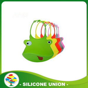 Colourful Waterproof Leak Proof Silicone Baby Bibs