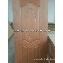 720x2150mm, 820x2150mm revestimiento de madera de nogal MDF