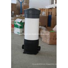 Filtro de agua de PVC con 3/5 Rounds y 8/9 Rounds