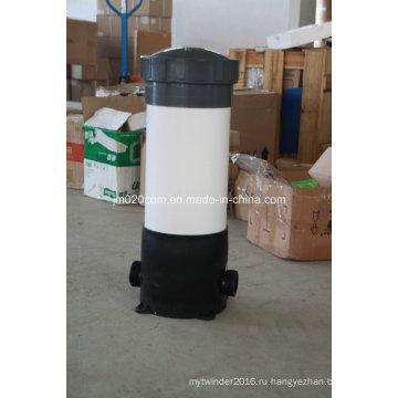 Пластиковый корпус фильтра для водяного патрона для промышленного водоочистного сооружения