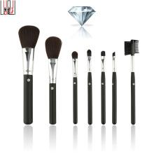 7 Pieces High Quality Fashion Diamond Nylon Hair Makeup Brush