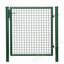 Puerta de metal con recubrimiento de polvo de 100 cm para jardín