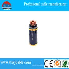 Energía de la CC Cable de la baja tensión Alambre eléctrico al aire libre Estándar de la empresa