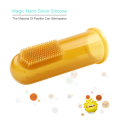 Infant Training Silicone Baby Toothbrush with Silicone Bristle