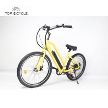 48v cómodo montar bicicleta eléctrica madin en China / bicicleta de crucero de playa eléctrica
