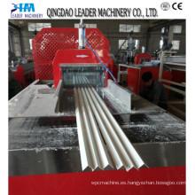 Perfiles de PVC Seis que hacen línea / perfil que hace la máquina