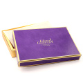 Коробка подарка качества еды для упаковывать шоколада