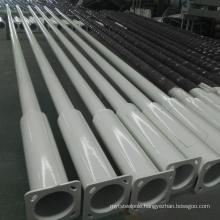 factory direct supply hot dip galvanized 5m 9m 12m steel pole with wholesale price