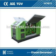 60Hz 56kW 70kVA Diesel Generator Super Silent type