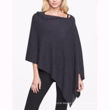 15PKCSP11 55%silk 45%cashmere autumn poncho cashmere