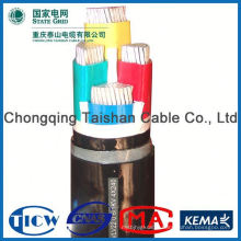Good Quality PVC/XLPE Material mv cu/xlpe/pvc/sta power cable