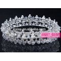 crystal diamond pearls beauty pageant wedding tiara crowns