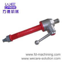 Parte de mecanizado de aluminio CNC de alta precisión