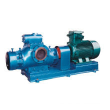 Horizontal Twin Screw Pump for High Viscosity Medium