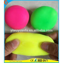 Горячий продавать красочные стрейч стресс мяч игрушки для детей