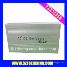Aluminium 3,5 Zoll IDE Festplattengehäuse