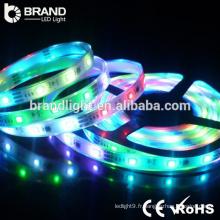 Garantie de 3 ans High Luminosité 60LEDS RGB 14.4W 5050 led strip light