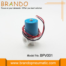 White Plastic Water Solenoid Valve For RO System
