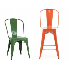 Mobilier de bar professionnel / Chaises de salle à manger pivotantes en métal (XS-M822)