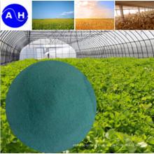 Fertilizante de cobre orgánico de cobre quelado de aminoácidos compuestos