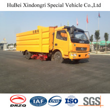 7.5CBM Compact Dongfeng Street Road Sweeper
