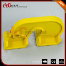 Elecpopular Fácilmente Oprated Dispositivo plástico amarillo de la cerradura de la seguridad para los interruptores grandes