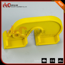 Elecpopular Easily Oprated Yellow Plastic Safety Lockout Device For Large Circuit Breakers