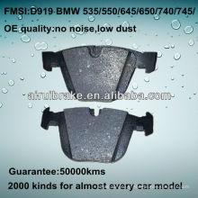 Plaquette de frein D919 OE QUALITY pour BMW CAR