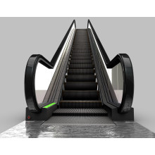 Öffentlicher Einkaufszentrum-Treppenstufen-Handlauf-Rolltreppe im Freien